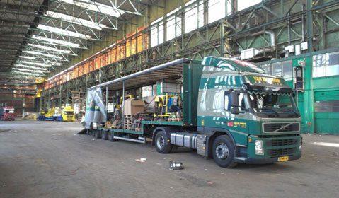 Industrieel transport